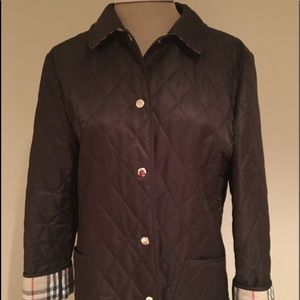 Traditional Burberry quilted jacket
